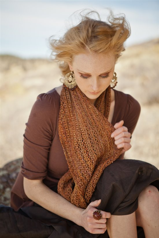 Roam Cowl KnitsceneAccessories 2012