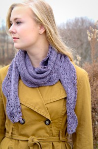 Hoopla scarf style | The Knitting Vortex