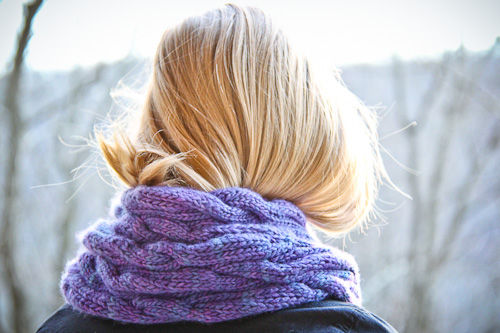 Very Chic Scarf | The Knitting Vortex