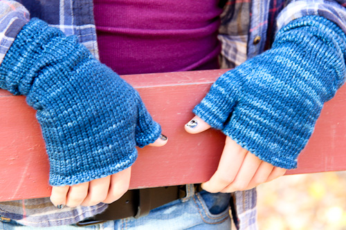 Ruckle Mitts Last Look | The Knitting Vortex
