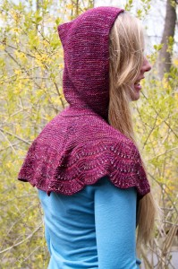 Escallop Capelet Last Look | The Knitting Vortex