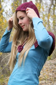 Escallop Capelet hooded | The Knitting Vortex