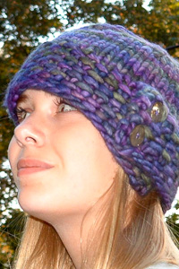 London Calling hat | The Knitting Vortex