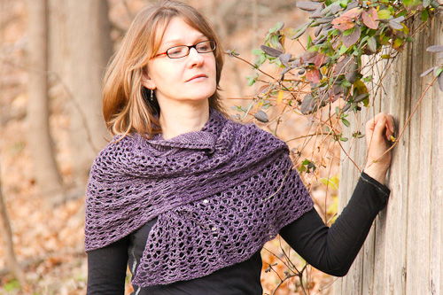 Tosh Lumina wrapped view | The Knitting Vortex