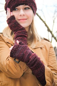 Crimpy Mitts hero | The Knitting Vortex
