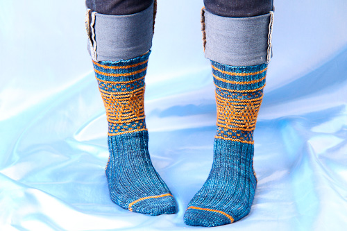 Magickal Quidditch Socks | The Knitting Vortex