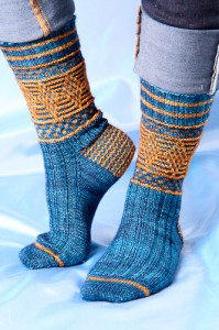 Magickal Quidditch Socks |The Knitting Vortex