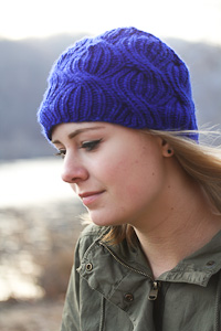 Azul side view | The Knitting Vortex
