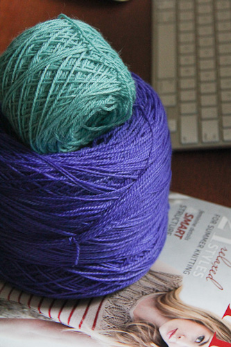 BIG yarn and baby | The Knitting Vortex