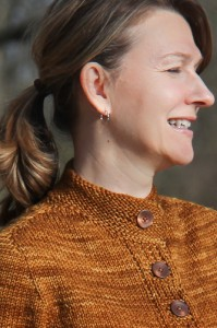 Koa | The Knitting Vortex | neck and shoulder detail
