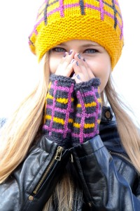 Tartania Mitts | The Knitting Vortex
