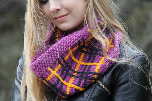 Tartania Cowl | The Knitting Vortex