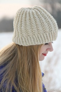 Fish Moderne Hat | The Knitting Vortex
