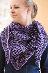 Slip Sliding Away bandanna style | The Knitting Vortex