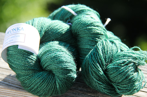 Katie Scarlett Artio Lace yarn