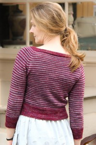 Layercake back view | The Knitting Vortex