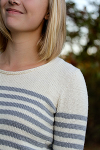 Elizabel shoulder detail | The Knitting Vortex