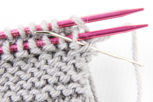 Grafting Garter 2 | The Knitting Vortex