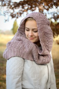 Yoli Cowl hooded | The Knitting Vortex