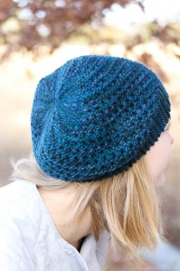 Yoli Hat back view | The Knitting Vortex
