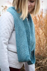Yoli Loop worn long | The Knitting Vortex