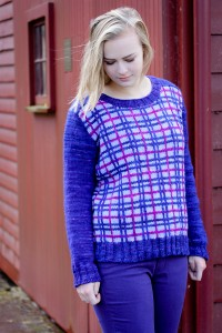 Truly Plaidly Deeply Last Look | The Knitting Vortex