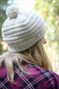Seedstripes back view | The Knitting Vortex