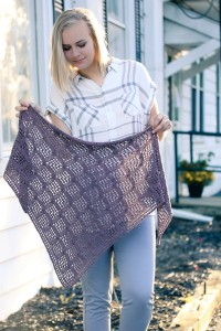Mazerunner shawl | The Knitting Vortex