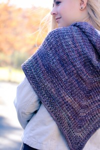 Courser Shawl Back detail | The Knitting Vortex