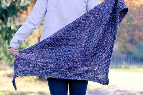 Courser Shawl cover | The Knitting Vortex