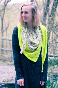 Kline Shawl wrapped | The Knitting Vortex