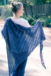 Throwing Shade back view | The Knitting Vortex