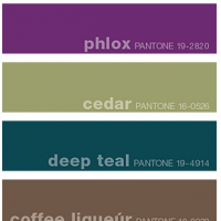 Fall 2011 Pantone Color Forecast