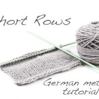 Tutorial: Short Rows using the German method
