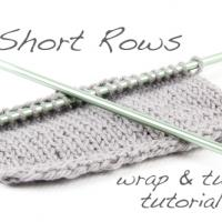 Tutorial: Short Rows using the wrap & turn method